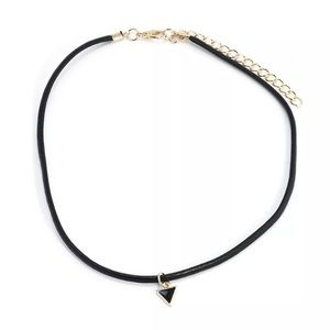 Jewelry - 3 for $15 black geometric necklace